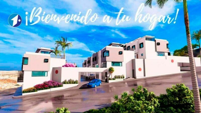 Se vende casa nueva en Zinnia Residencial (Colinas de Rey) Tijuana PMR-1102