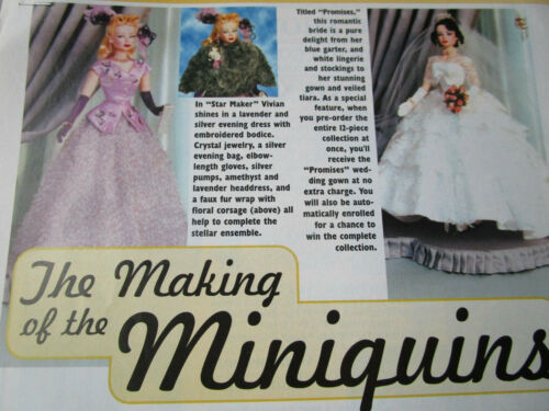 4pg D.A.E MAKING OF Interview Miniquin Doll History Article