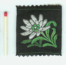 Aufnäher, Sticker, Textil maschinengestickt Blumen