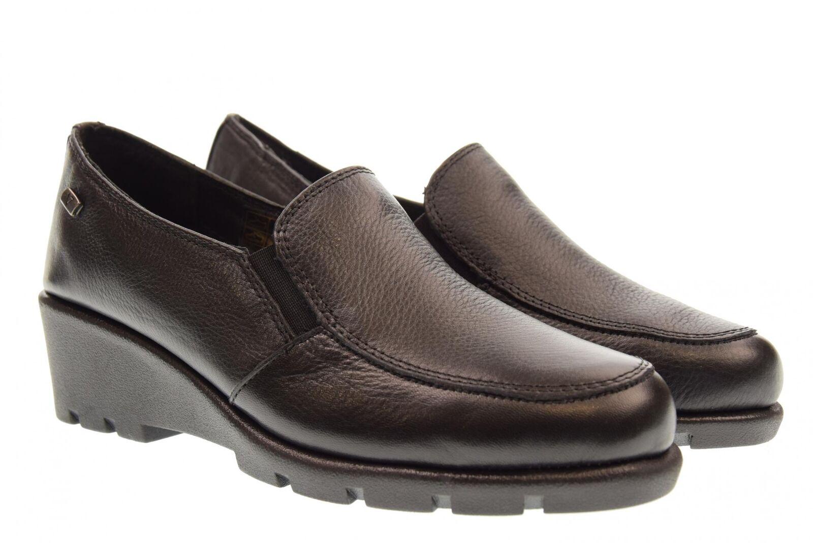 negozio di moda in vendita Valleverde scarpe donna mocassino mocassino mocassino con zeppa 36404 A18  spedizione gratuita