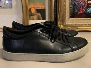 "Men's Bruno Magli ""Westy"" Leather Navy"