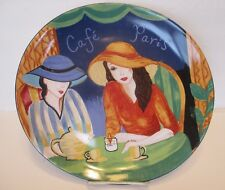 item 4 Sango Cafe Paris Oval Dinner Plate 11 inch Pattern 4914 -Sango Cafe Paris Oval Dinner Plate 11 inch Pattern 4914 & Sango Cafe Paris 4914 Set of 4 Soup Cereal Bowls 8 in | eBay