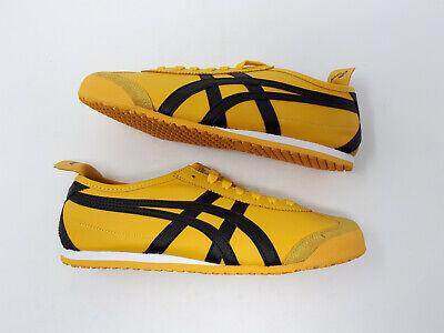 Vagabundo Conciencia como resultado  NEW Asics Onitsuka Tiger Mexico 66 Bruce Lee Kill Bill Shoe Yellow Black  Men 7.5 | eBay