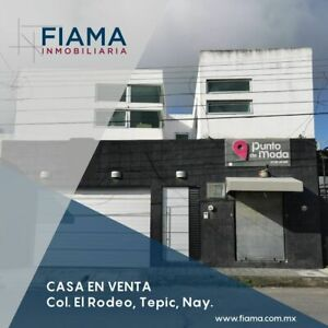 SE VENDE CASA CON LOCAL COMERCIAL EN COL. EL RODEO, TEPIC