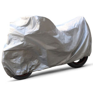 XL-Sun-proof-Motorcycle-Storage-Cover-For-Harley-Dyna-Softail-Sportster-Cruiser