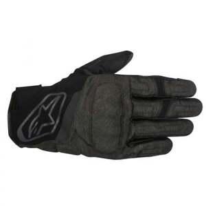 Drystar Alpinestars Syncro Motor Textile Bike Gloves Waterproof Black Grey gwHqw75pr