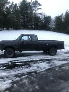 Dodge 100 4x4 for sale need gone