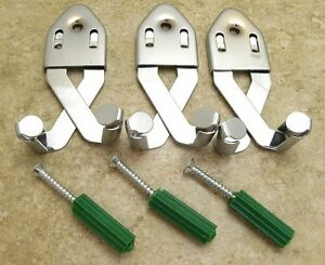 QTY-3-Universal-Metal-Sword-Hanger-Wall-Display-Swords-Knives-Machetes