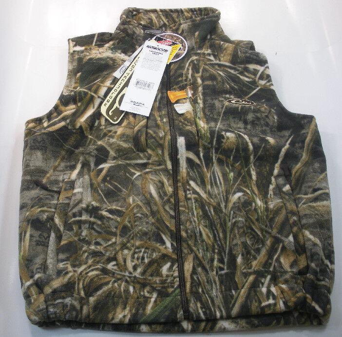 Drake Waterfowl DW1600-015-4 Max5 Camo Fleece Vest X-Large 17687