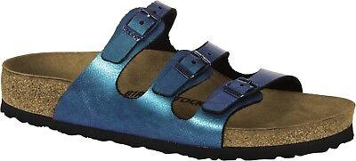 Birkenstock Florida Fresh 37 40 normal graceful gemm blue Pantolette 1010958 NEU | eBay