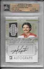 12-13 ITG Ultimate Memorabilia Enshrined Mike Gartner Auto Autograph /19