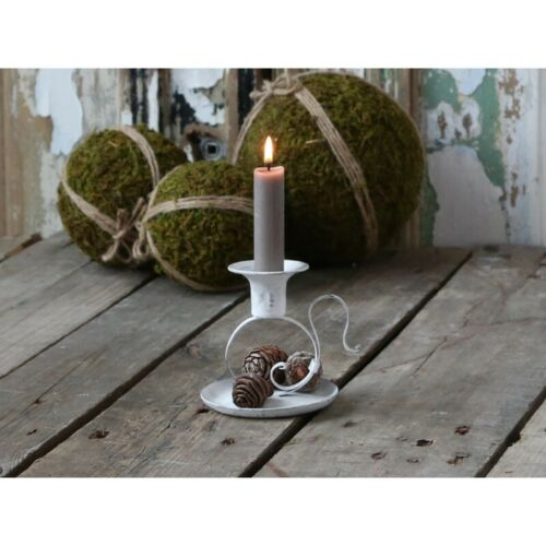 Chic Antique Kerzenhalter Kerzenständer Teelichthalter Kammerleuchter Shabby NEU