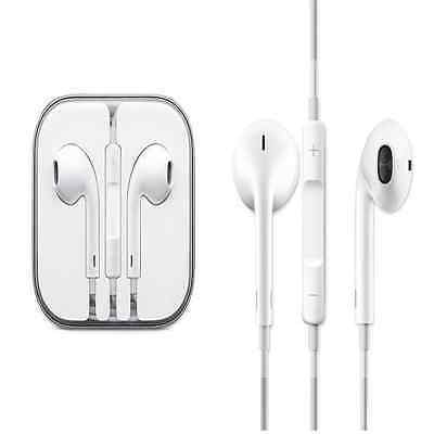 Apple iPhone Handsfree Earphone For Apple iPhone With Remote and Mic- White