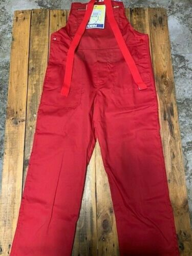 und Bundhosen in rot Abverkauf Latz