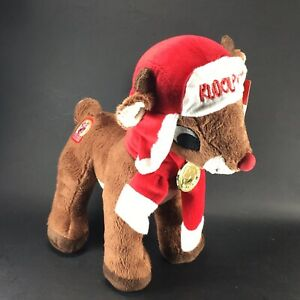 Dan-Dee-Rudolph-The-Red-Nosed-Reindeer-50-Years-Holiday-Decor-Plush-W-Tags