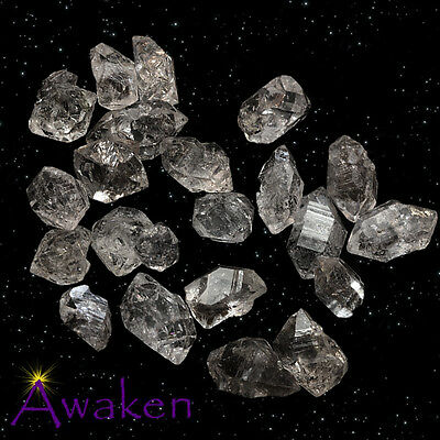 *ONE* Small 10-15mm NON-HERKIMER DIAMOND QUARTZ from Pakistan**TRUSTED SELLER**