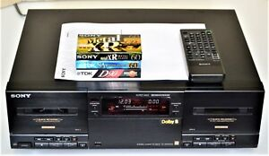 Sony-TC-WR-901-ES-in-NEAR-mint-Con-100-Serviced-REMOTE-FREE-TAPES-amp-SHIPPING