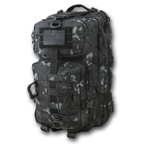 Kombat UK Reaper Noir BTP Camouflage Hex Stop Daysack partol Pack 40 L