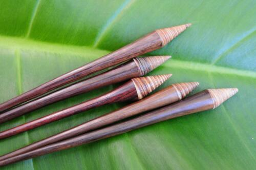 Handmade wooden HAIR JEWELRY PIN STICK conical sea SHELL Sono wood natural new