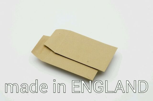 50 x 100mm x 62mm Small Brown Money/ Dinner money/ seed/ coin/ wages Envelopes