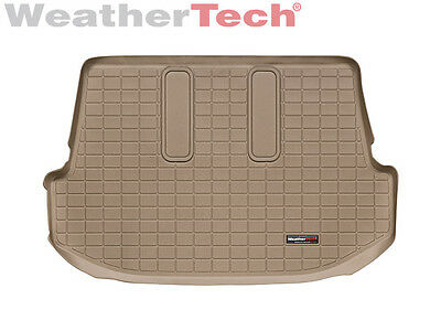 WeatherTech Cargo Liner for Toyota Fortuner - behind 3rd Row - 2007-2013 - Tan