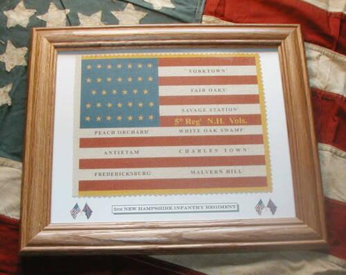 34 Star Union Civil War Flag.....5th New Hampshire