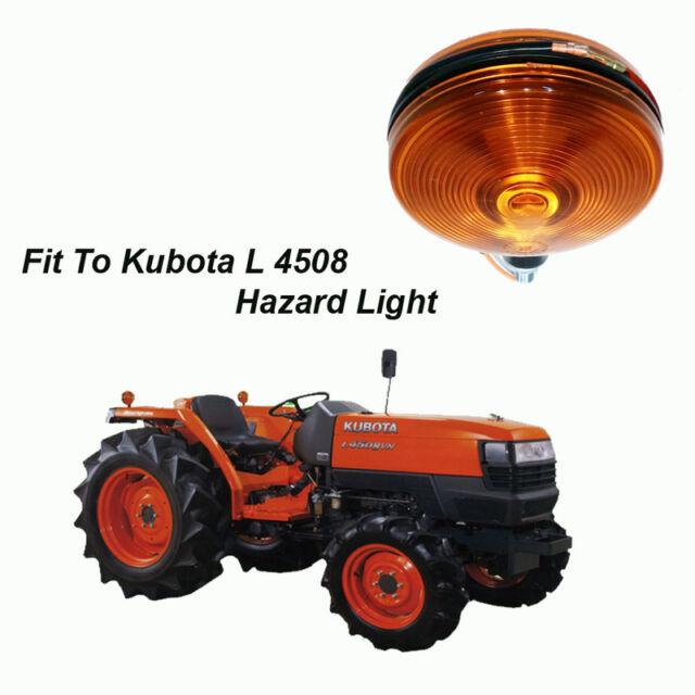 use for kubota tractor l 3408 l4508 l 4508dt signal light hazard rh ebay com Kubota Tractor Parts Kubota ATV