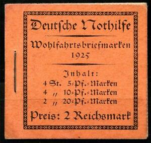 GERMANY-DEUTSCHES-REICH-MICHEL-MH18-1-COMPLETE-UNEXPLODED-BOOKLET-AS-SHOWN