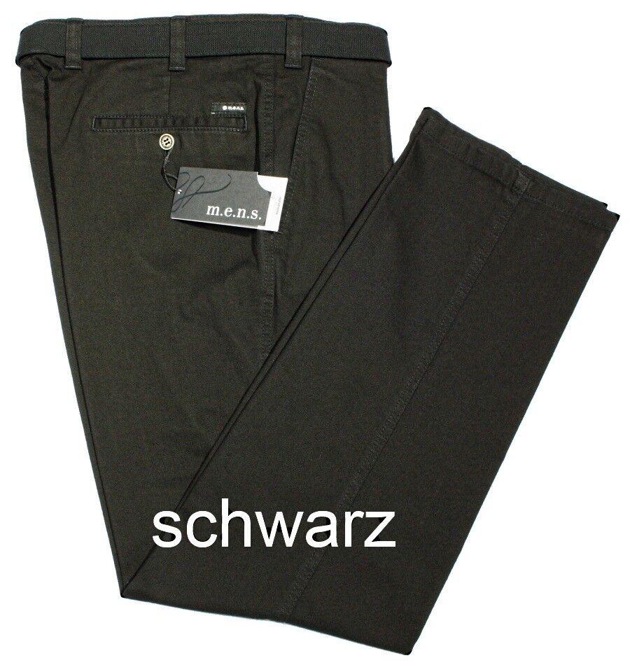 M.E.N.S. Herren Jeans Madrid 5295-010 Stretch schwarz MENS Flatfront  | Vorzugspreis  | Moderate Kosten  |  Neuer Markt