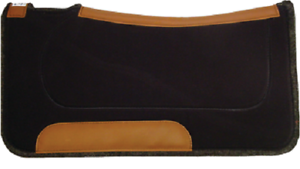 "1"" profilé laine RANCH WESTERN SADDLE PAD par Diamond Wool Pads-afficher le titre d`origine XMdsKnmD-07162405-924442206"