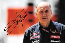 Franz Tost SIGNED  F1 Scuderia-Toro Rosso Team Principal Portrait