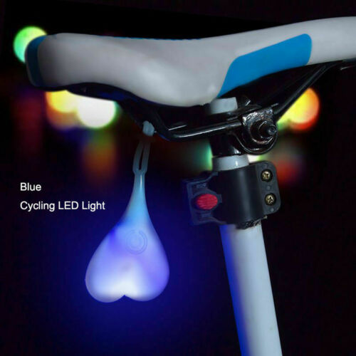 LED Bike Bicycle Rear Tail Light Balls Silicone Seat Back Eggs Night Riding Lamp