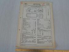 OMOLOGAZIONE CAMION AUTOCARRO FIAT 1963 1100 T 1100T 217D