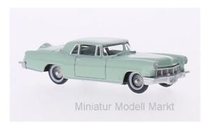87lc56003-Oxford-lincoln-continental-MkII-turquesa-1956-1-87