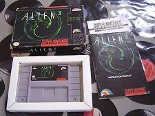 SNES Alien 3 (with box & manual) NTSC US
