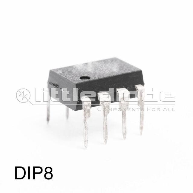 NJM2068D Integrated Circuit Op-Amp - CUSTODIA: DIP8 MAKE: NJR - New Japan Radio