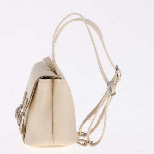 Handmade 1//6 PU Leather Schoolbag for Blythe for LUTS BJD Doll Accessories
