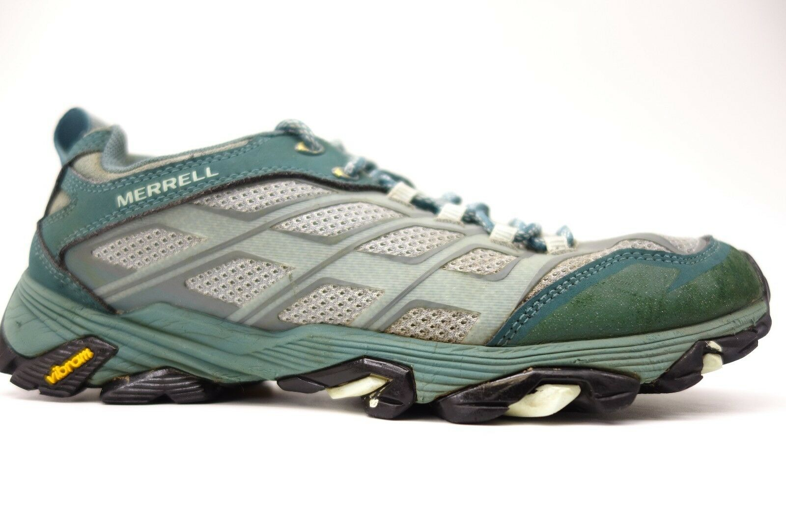 Merrell Womens Moab FST Mid Waterproof Hiking Athletic Active shoes Size 9