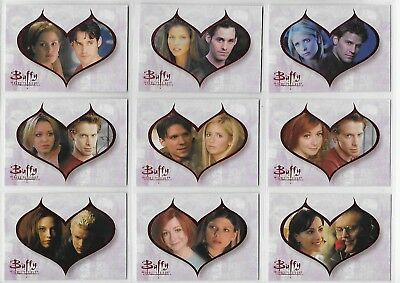 Buffy TVS The Story So Far Couples Chase Card C8