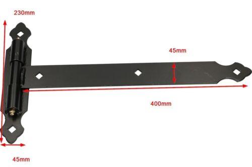 Ladenbänder Torband Ladenband Türband Kloben auf Kugeln T-Bänder Scharnier 2St.