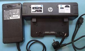 Docking Station HP EliteBook 8560p 8440W 8560w 8570p 8570w 8740p + 230W Adapter