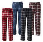 New Croft&Barrow Men Plaid Flannel Lounge/Pajama PJ Pants Big&Tall 3XLT MSRP $30