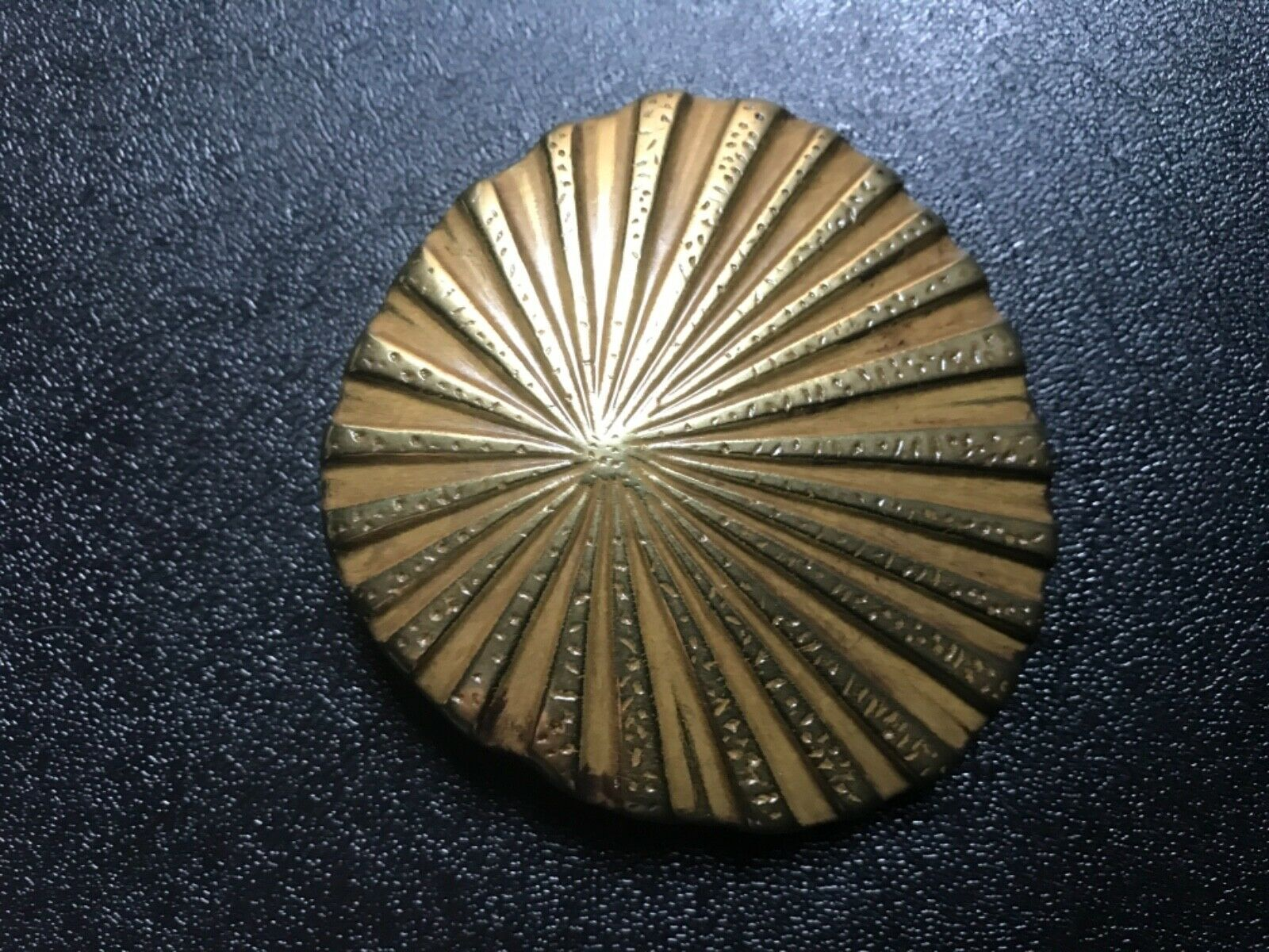 Women's rare, delicate and lovely ,solid brass Sea Shell inspired belt buckle .