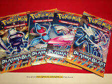 4 x Pokemon B&W Plasma Blast Booster Packs (10 Cards/pack) - Factory Sealed