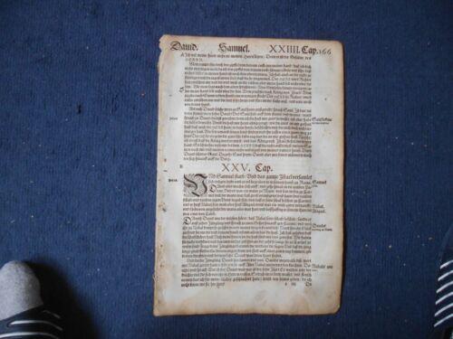 """""""Erstbesteller Angebot incl AG300 1561 Porto"""" Einzelblatt aus Luther Bibel v"""