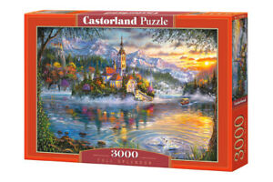 "Castorland Puzzle 3000 Pieces FALL SPLENDOR 92x68cm 36""x27"" Sealed box C-300495"