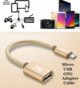 Micro-USB-Male-to-USB-A-Female-Braided-OTG-Cable-Adapter-For-Samsung-Android