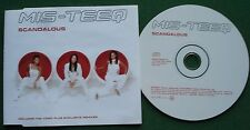 Mis-Teeq Scandalous Telstar Label CDSTAS3319 2003 CD Single