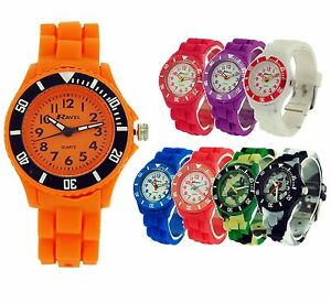 Ravel-Girls-Boys-Rotating-Bezel-Silicone-Strap-Sports-Watch-Xmas-Gift-For-Kids