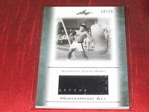 Friendly Muhammad Ali Boxing Event Worn Certified Swatch #10/20 Excellent Quality Sports Mem, Cards & Fan Shop